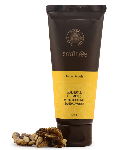 Exfoliante facial Soultree 90 ml.