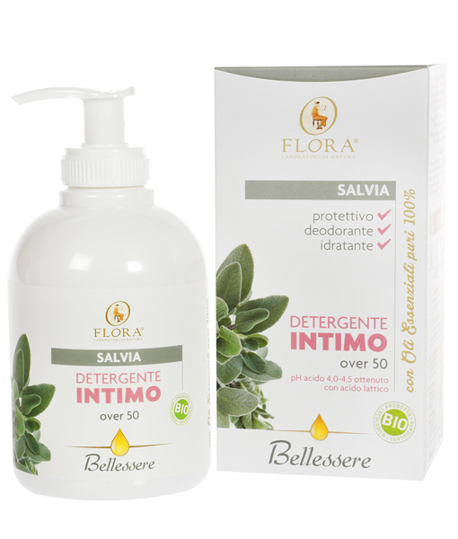 Gel íntimo Salvia +50 Flora 250 ml.
