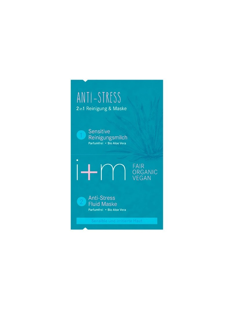 Mascarilla facial 2 en 1 Anti estrés