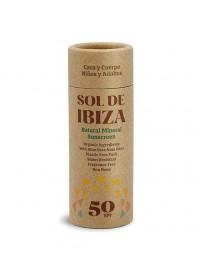 Stick protector solar mineral SPF50