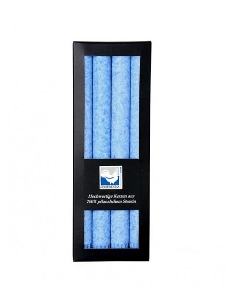 Vela Candelabro Azul