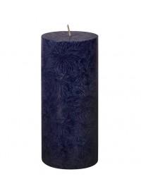 Vela pilar grande Azul