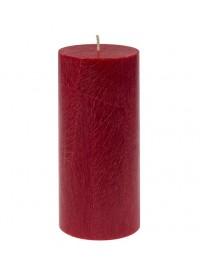 Vela pilar grande Rojo