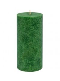 Vela pilar grande Verde