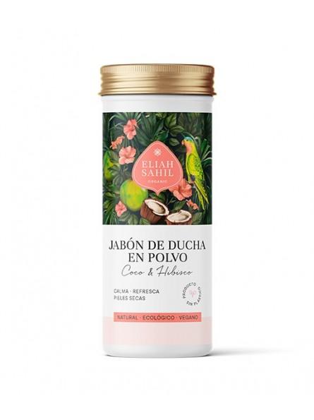 Jabón de ducha Coco-Hibisco en polvo