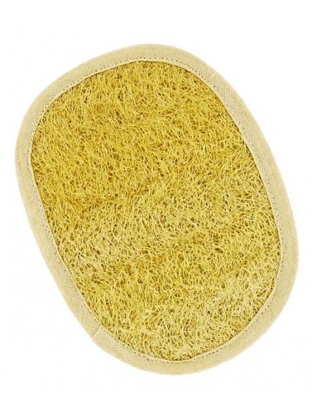 Almohadilla de loofa y algodón