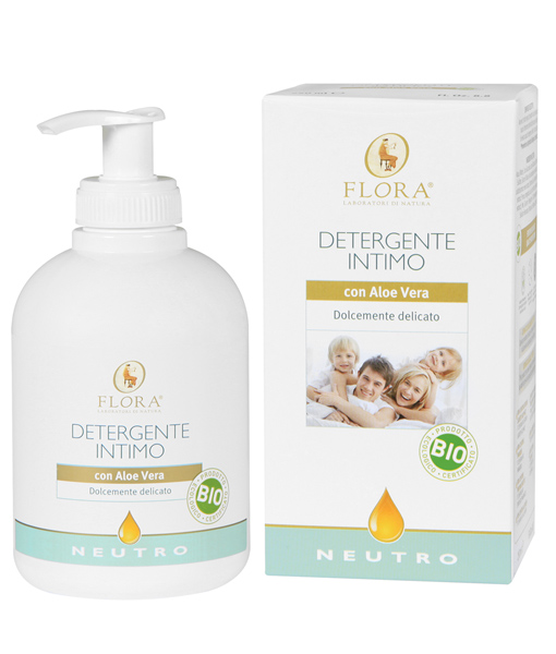 Gel íntimo Neutro Flora 250 ml.