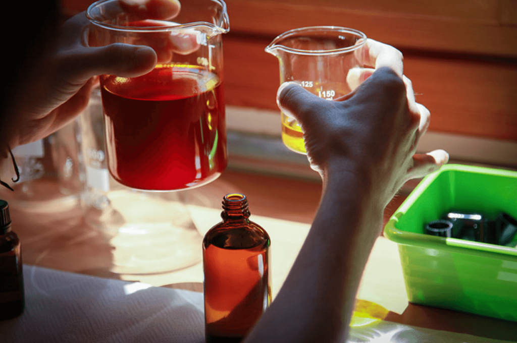 Destilación aceites esenciales Labiatae